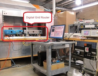 Evaluation of Digital Grid Router